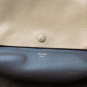 Celine Bags - Celine Tie Knot Companion leather pouch